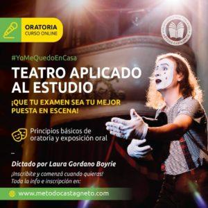 Curso ONLINE Teatro aplicado al estudio