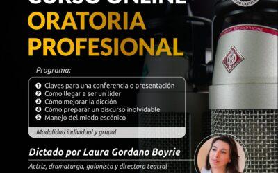 Curso Online ORATORIA PROFESIONAL